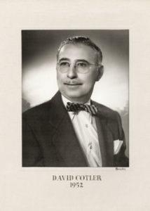 David Cotler 1952