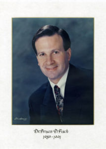Dr Bryan Fisch 1989-91