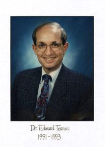 Dr Ed Tennen 1991-93