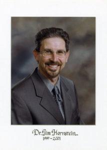 Dr Jim Hornstein 1999-2001