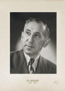 Ed Burgard 1942 45