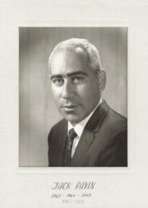 Jack Pavin 1963-64 83-85