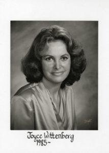 Joyce Wittenberg 1985-87