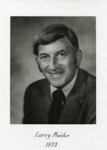 Larry Meister 1973-74