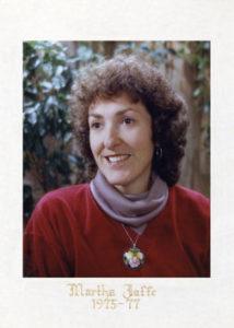 Martha Jaffe 1975-77