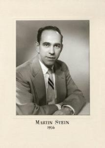 Martin Stein 1956 58