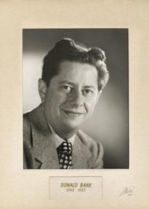Ronald Bank 1943 47 55