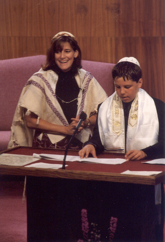 TBT ventura bar mitzvah at bimah