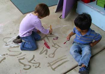 Pre-school--Activities