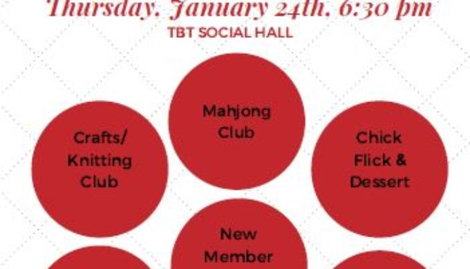 TBT Women Roundtables Red Flyer 20190124