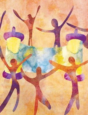 Simchat Torah dancers feature-2