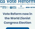 vote reform badge