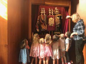 Preschool Opening Torah Ark