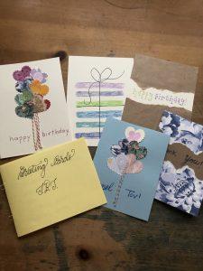 greeting card crafting